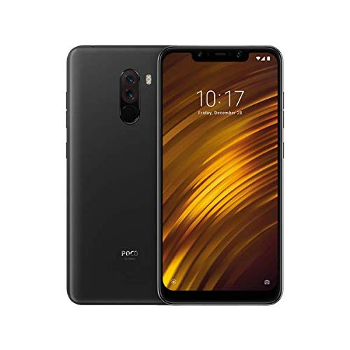 "Xiaomi Pocophone F1 128GB Graphite Black, Dual Sim, 6GB RAM, Dual Camera, 6.18"", GSM Unlocked Global Model, No Warranty"
