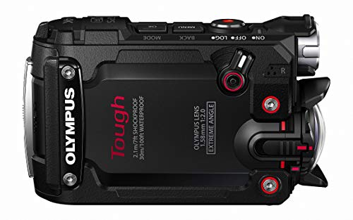 Olympus TG-Tracker with 1.5-Inch LCD (Black) - International Version (No Warranty)