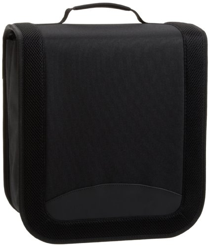 AmazonBasics Nylon CD/DVD Binder (400 - Cd Dvd Nylon / Disc