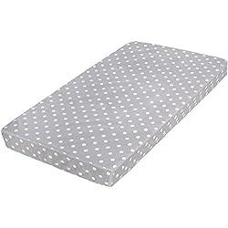 "Milliard Crib Mattress and Toddler Bed Mattress   Hypoallergenic + Waterproof Encasement   27.5""x52""x5"""
