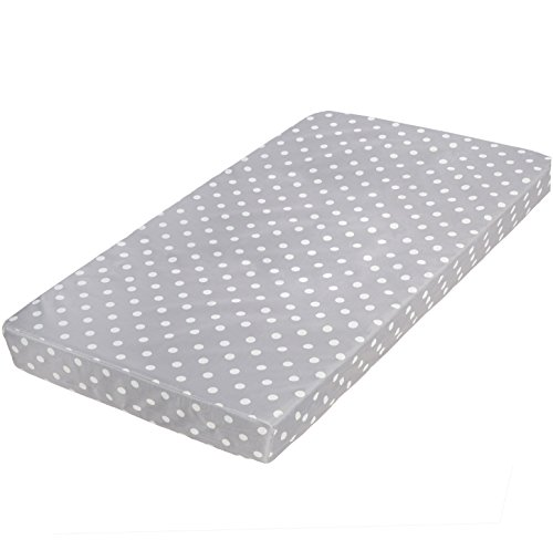 Milliard Hypoallergenic Baby Crib Mattress or Toddler Bed Mattress with Waterproof Cover - 27.5 inches x 52 inches x 4.75 inches (Best Firm Crib Mattress)