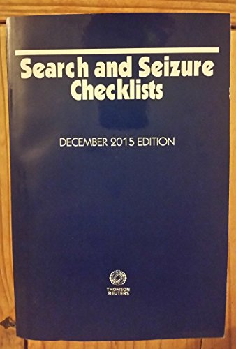 search-and-seizure-checklists-december-2015-edition