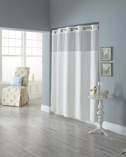 Hookless RBH82MY417 Fabric Shower Curtain product image