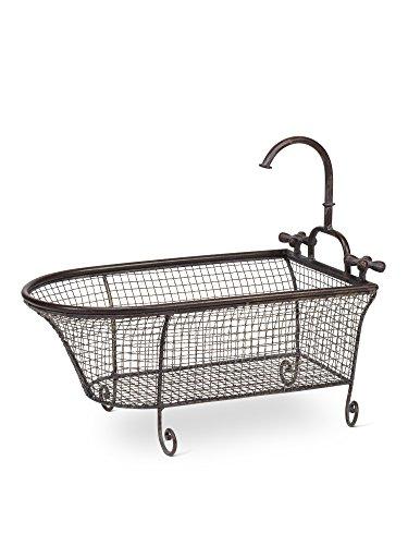 Wire Bath Tub Basket With Taps 16