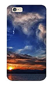 Eatcooment Snap On Hard Case Cover Sunset At The Mountain Lake Protector For Iphone 6