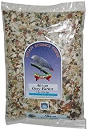 Volkman Avian Science Super African Grey and Amazon Parrot Food 4 Lb