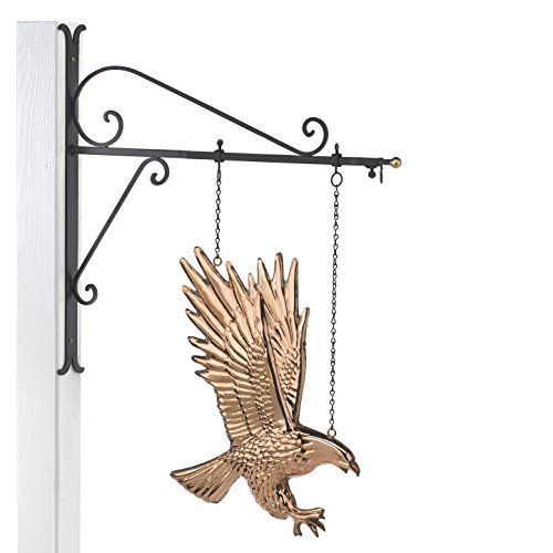 (Good Directions Eagle Copper Hanging Wall Sculpture - American Home Décor)