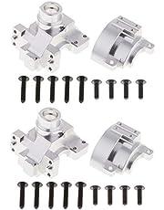 2 Piezas 102075 (02051) Caja de Engranajes de Aluminio para HSP 94111 94123 Repuestos