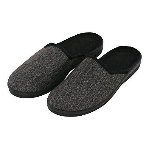 brandsseller - Zapatillas de Material Sintético para hombre, color Negro, talla 41