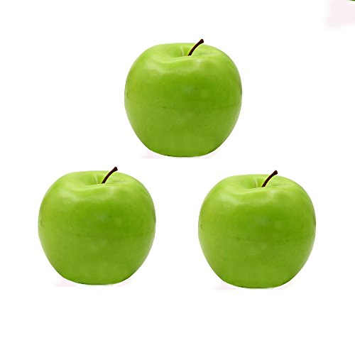 Artificial Green Apples Box of 12 by SOSAM