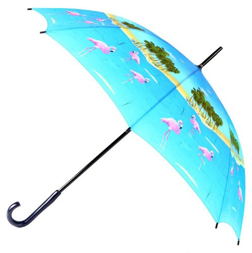 rainkist-manual-open-stick-animal-print-novelty-um-flamingo