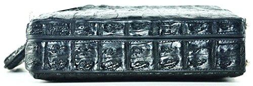 0fc2fb526668 Authentic River Crocodile Skin Mens Hornback Briefcase Laptop ...