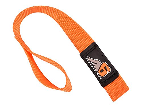 Orange Hook (Agency 6 Winch Hook Pull Strap - Orange - 1 INCH Wide - Heavy Duty - Made in The U.S.A.)