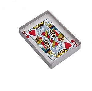 Omni Deck Glass Card Deck Ice bound Card Magic tricks Magic Accessories Gimmick