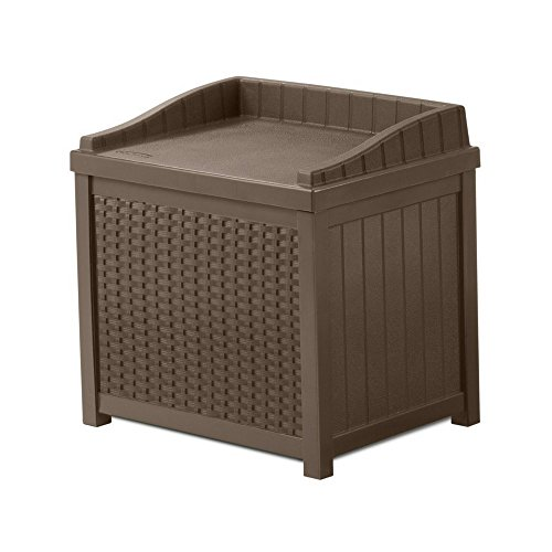 Outdoor Storage Box With Seat Contemporary Design 22-Gallon Capacity by Unknown
