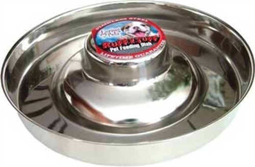 Loving Pets Stainless Litter Dish Puppy Bowl, 11-Inch, My Pet Supplies