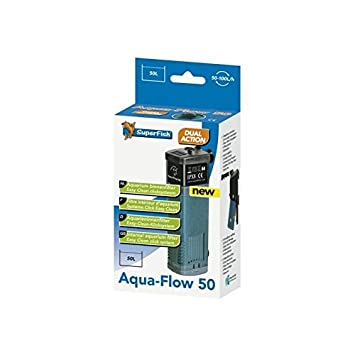 Filtro interno 100 L/H para Acuario Superfish Aqua Flow 50: Amazon.es: Jardín