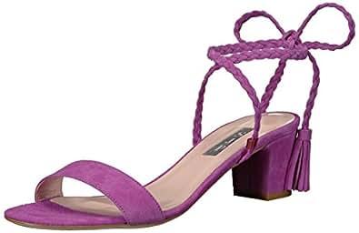 SJP by Sarah Jessica Parker Women's Elope Dress Sandal, Orchid Suede, 37 EU/6.5 B US