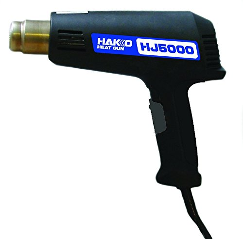 Hakko HJ5000/P Dual Temperature Heat Gun, Gold, 600 degrees F and 950 degrees F