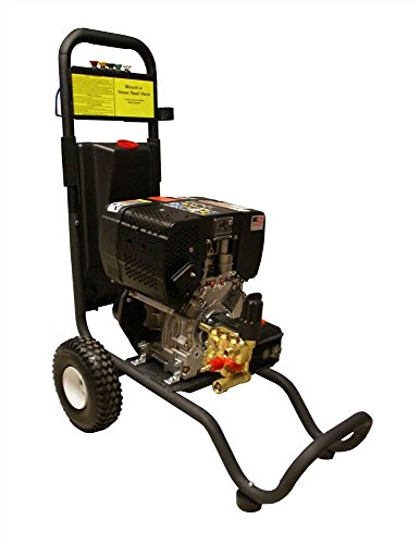 Cam Spray 25006DX Cart Mount Diesel Powered Cold Water Pressure Washer, 2500 psi, 50' Hose from Cam Spray