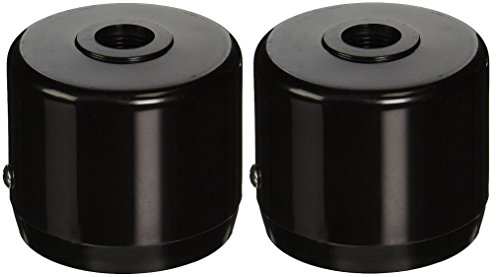 RAB Lighting MCAP3B Mighty Post Cap for 3' Pipe, 2-7/8' OD, Black (Pack of 2)