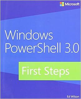 windows powershell 3 0 step by step