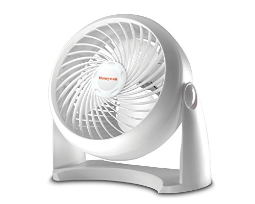 Honeywell HT-904 Tabletop Air-Circulator Fan, White, 11 inch,