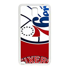 Philadelphia 76ers NBA White Phone Case for Samsung Galaxy Note3 Case