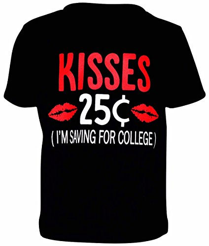 "Kiss Outfits (Unique Baby Boys ""25 Cent Kisses"" Valentine's Day Shirt (2t))"