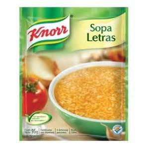 Knorr Tomato Based Alphabet Pasta Soup Mix, 3.5-ounce Packages (Pack of 6)