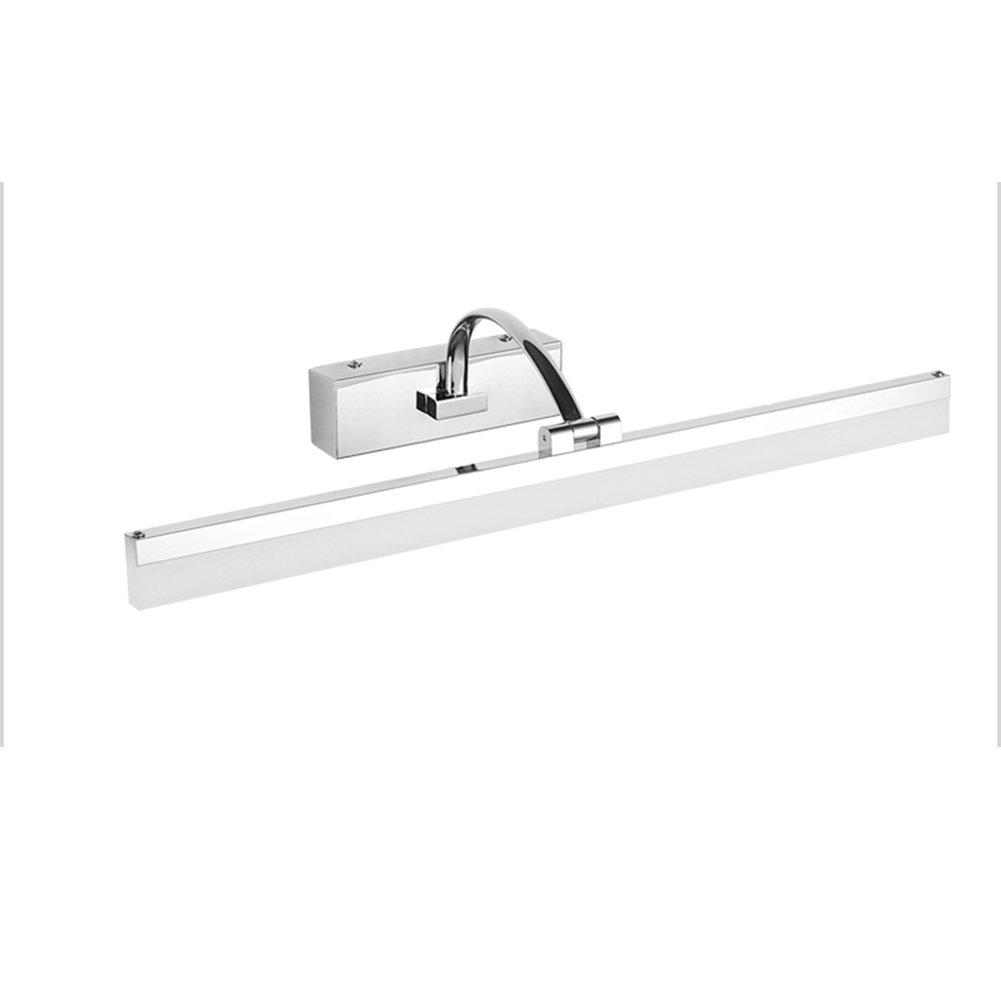 Mirror light XUERUI LED Lamp, 9W-16W Warm White Bathroom Lights, EMC Driver, 40-70CM X 7CM X 4.5cm, Energy Savin (Color : Warm white, Size : 40CM)