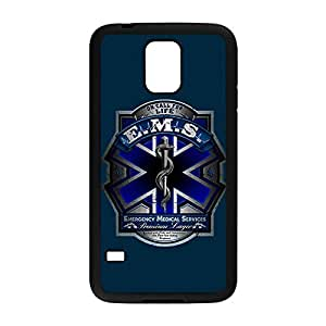 Special & Simple Design EMT EMS Medical Rescue Hard Plastic Case Cover for Samsung Galaxy S5 with Image Black 022603 by icecream design