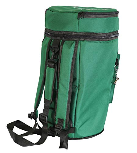First Class Darbuka/Doumbek Case Bag - Bottle Green+ Darbuka Keychain Holder