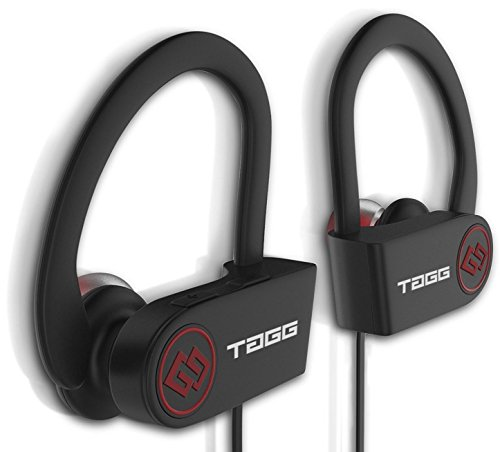 TAGG® Inferno, Wireless Bluetooth Headset Headphone with Mic + Free Carry Case || Sweatproof Earphones, Best for Running and Gym || Stereo Sound Quality with Ergonomic-Design [[NEW RELEASE]]
