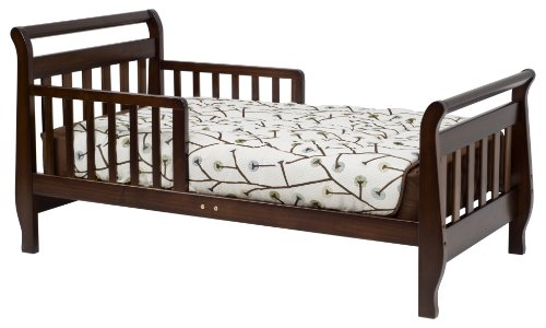 Davinci Sleigh Toddler Bed, Espresso (Toddler Bed Replacement Parts)