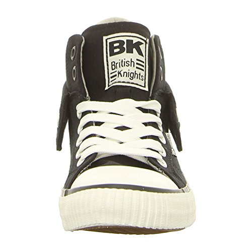 Roco Men British Sneakers Knights Black Shoes qAwwIz