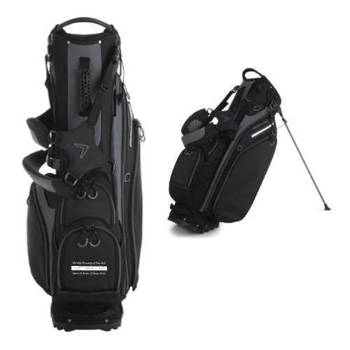 CUNY School of Law Callaway Hyper Lite 5 Black Stand Bag 'Official Logo' by CollegeFanGear