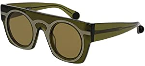 Sunglasses Christopher Kane CK 0008 S- 004 GREEN / BROWN
