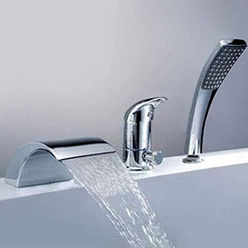トイレでミキサータップシンクの蛇口穴風呂の蛇口で三穴シャワー