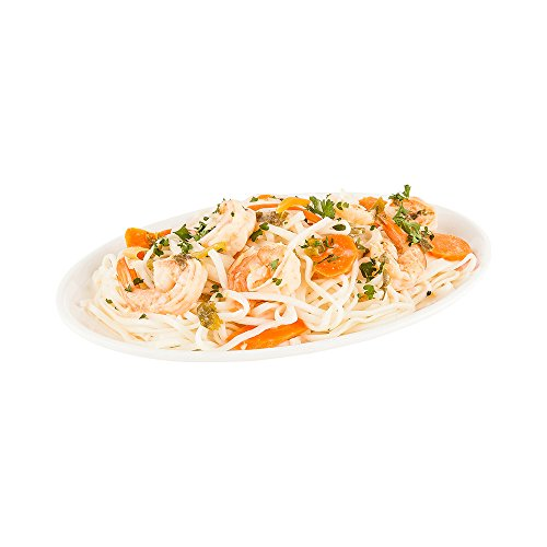 Classic Oval Melamine Plate - Large 14 Inches - White - Durable, Long Lasting - Hot & Cold Foods - Dishwasher Safe - 10ct Box - Restaurantware