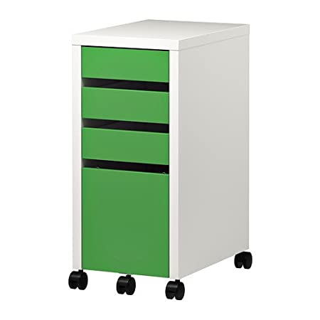 buy online 34d52 1b9d5 Ikea MICKE - Drawer unit with drop-file storage, white ...