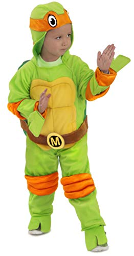 Princess Paradise Baby's Teenage Mutant Ninja Turtles Costume Jumpsuit, Michelangelo, 12-18 Months]()