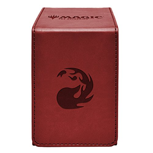 Ultra Pro 86778 Magic: The Gathering Mountain Alcove Flip Box, One Size, Multi (Best Red Commander Cards)