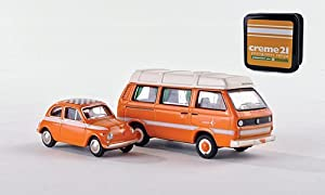 Set Set of 2, creme 21, 2013, Model Car, Ready-made, BUB 1:87 by Set