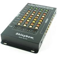 1x5 (1:5) 5-Way Component/Composite/S-Video + Digital/Analog Audio Splitter Distribution Amplifier