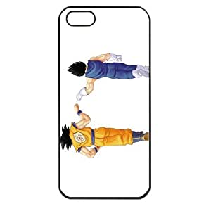 Dragon Ball Manga Comic Slim Vegeta Apple iPhone 5 TPU Soft Black or White case (Black)
