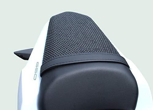 Augusta Seating - TRIBOSEAT Kawasaki Z650 (2017-2018) Anti Slip Motorcycle Passenger SEAT Cover Accessory Black