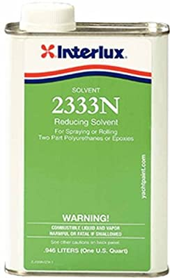 Interlux Yacht Finishes / Nautical Paint 2333Q REDUCING SOLVENT FOR BRUSHING THINNER, SOLVENT & CLEANER by Interlux