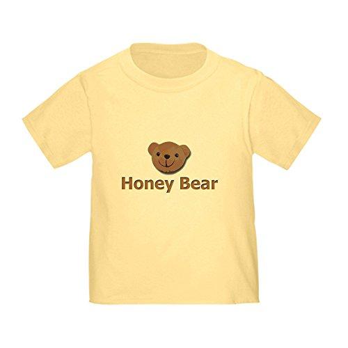CafePress Honey Bear Toddler T-Shirt Cute Toddler T-Shirt, 100% Cotton Daffodil Yellow ()