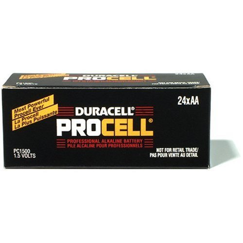(Duracell Procell AA 24 Pack PC1500BKD09)